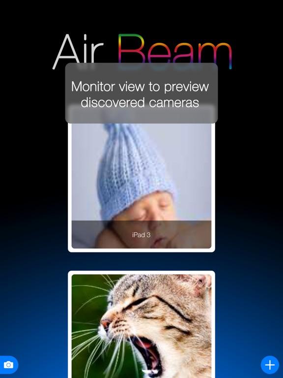 AirBeam Video Surveillance Screenshots