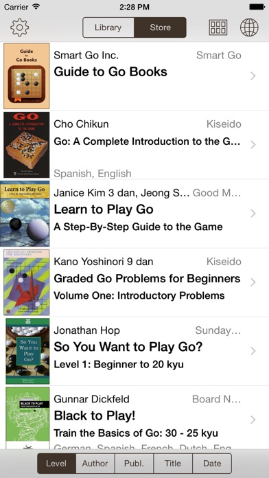 Go Books review screenshots