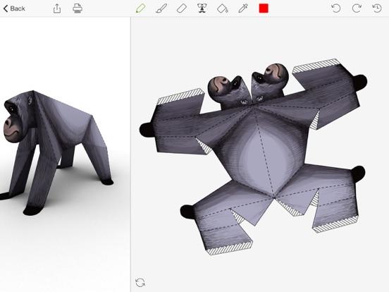 Foldify Zoo - Create, Print and Fold Paper Animals Screenshot