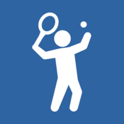 TennisKeeper - Tennis Activity, Scores, Steps and String Tracker icon