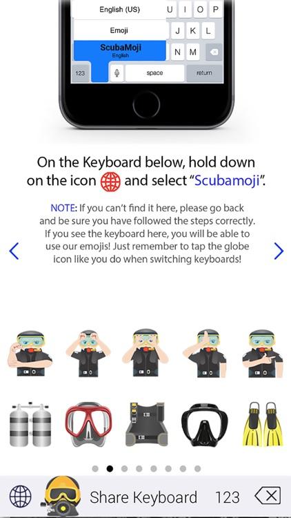 Scubamoji Scuba Diving Emoji by stuart sutcliffe