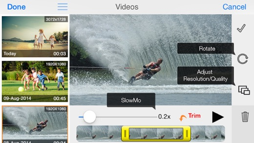 MoviePro : Video Recorder Screenshots