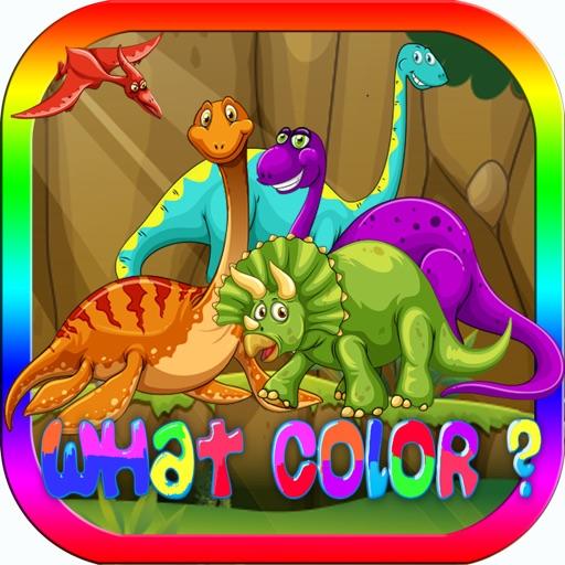 dinosauro colore giochi esercizi test per bambini