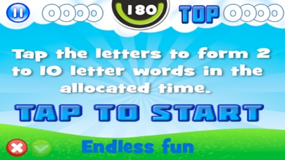 Penguin Wack Word Drops screenshot 2