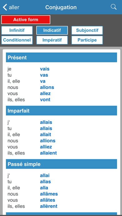 English / French dictionary Screenshot 5