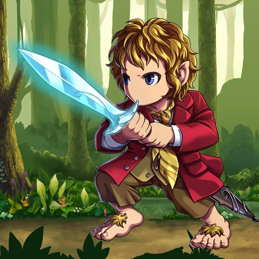 Magic Sword: Flying Hobbit Challenge iOS App