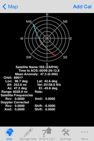 Satellite Tracker - (ProSat) screenshot 3