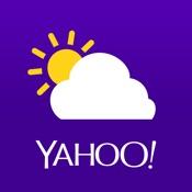 Yahoo-App macht das Wetter schick