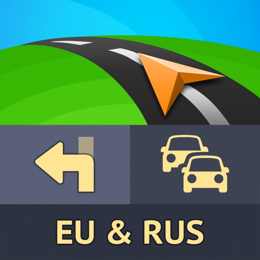 Sygic Europa en Rusland: GPS-navigatie, Kaarten