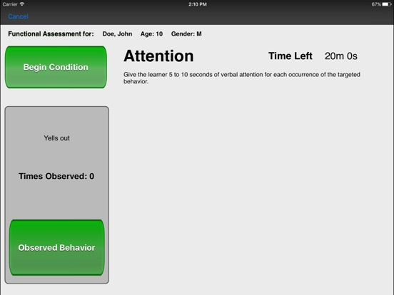 Functional Behavior Assessment Wizard On The App Store