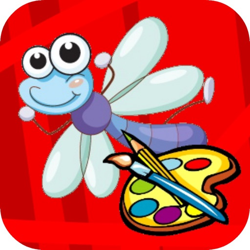 Coloring for Kids 3 - Fun Color & Paint on Drawing iOS App
