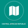 Central African Republic : Offline GPS Navigation App