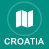 Kroatien : Offline-GPS-Navigation