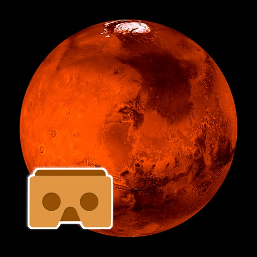 Virtual Reality Mars for Google Cardboard VR images