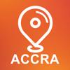 Accra, Ghana - Offline Car GPS App