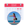 30 Day Squat Challenge for Women