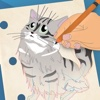 How To Draw Cats & Kittens Simple Drawing Lessons