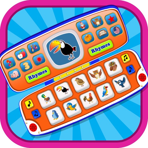 Toy Phone For Toddlers - Baby Laptop Fun iOS App