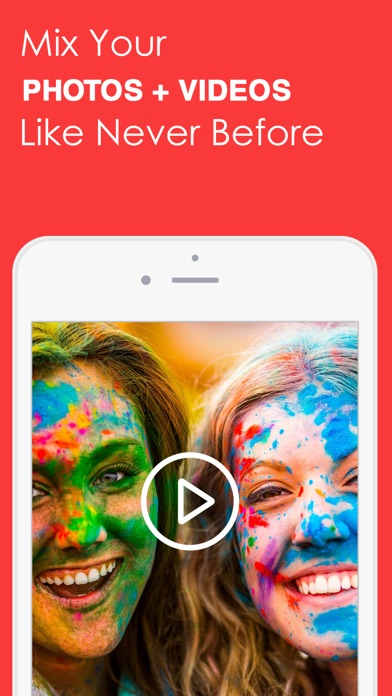 Screenshots of SlideShow Movie Maker- Video PicTure With Music for iPhone