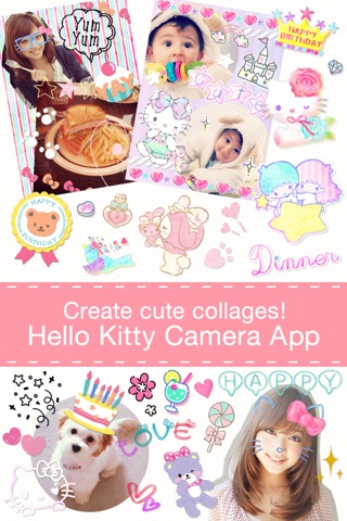 Hello Kitty Collage screenshot 1