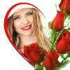 Free Rose Photo Frames & Rose Day Picture Effects