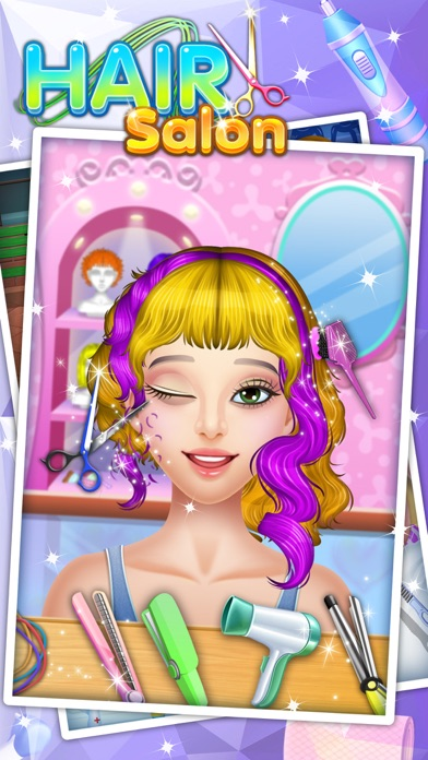 Hair Salon - Fun Games App Download - Android APK