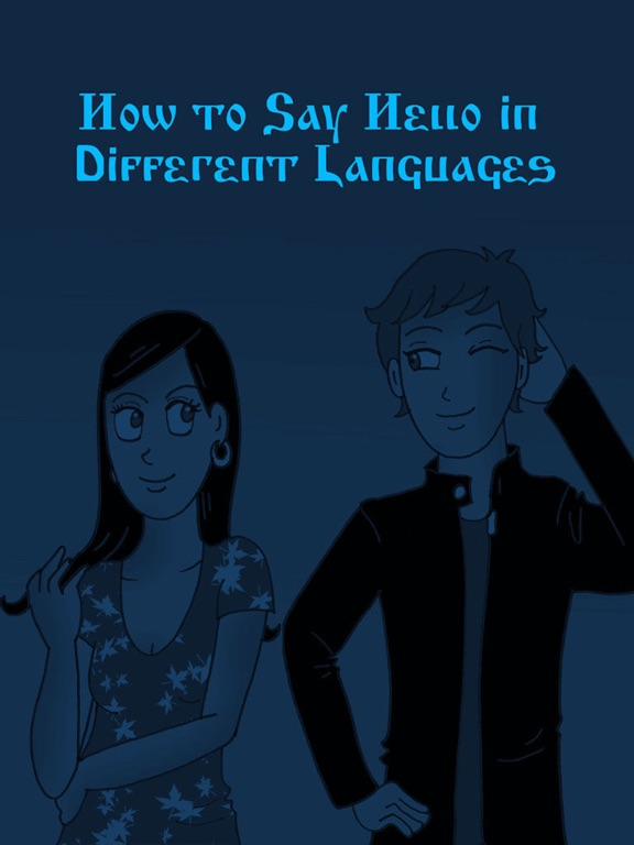 how to say hello in different languages pdf