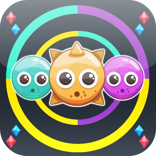 Switch Color Bubble Game iOS App