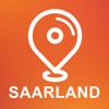 Saarland, Germany - Offline Car GPS App