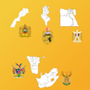 Africa Country's State Maps, Flags, Info