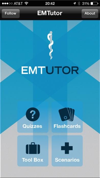 EMT Tutor Screenshot
