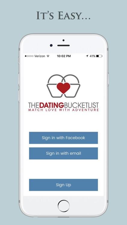 Bucket list dating