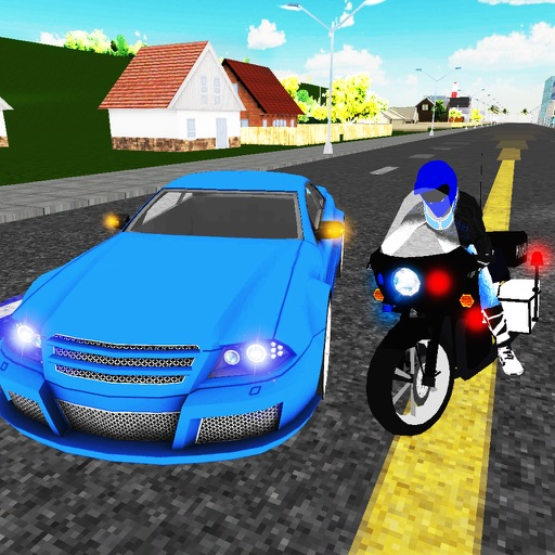 Traffic Police Bike Chase 3D iOS App
