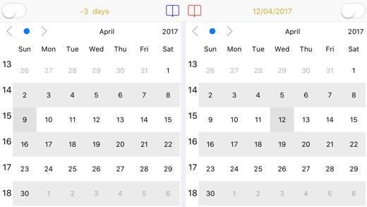 Dual Calendar Screenshots