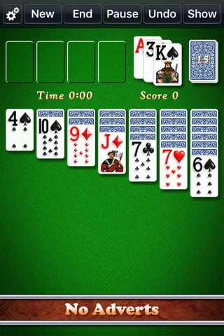Solitaire City (Ad Free) screenshot 1
