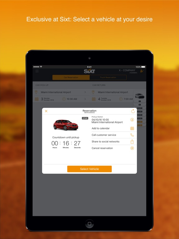 Sixt rent a car on the App Store