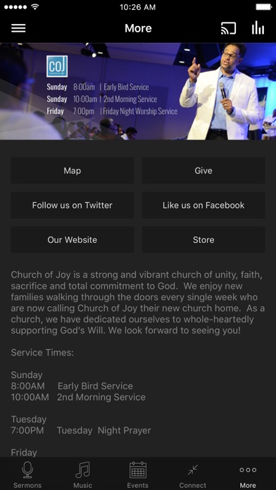 Screenshot #6 for Church of Joy