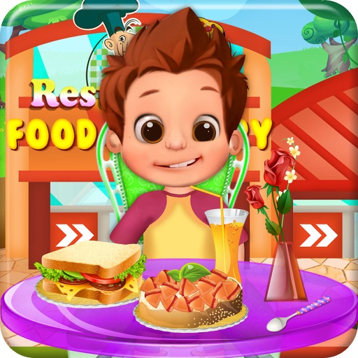 Restaurant Food Factory Cooking games for kids iOS App