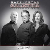 BSG: The Complete Series, Vol. 1 - Battlestar Galactica Cover Art