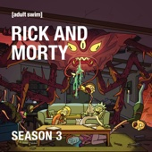 Rick and Morty, Season 3 (Uncensored) - Rick and Morty Cover Art