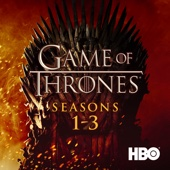 Game of Thrones, Seasons 1-3 - Game of Thrones Cover Art