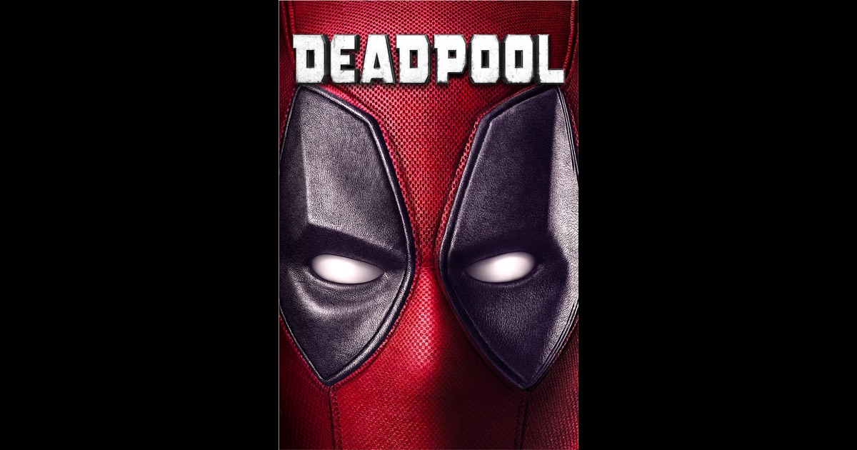 Official deadpool movie poster