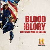 Blood and Glory: The Civil War in Color - Blood and Glory: The Civil War in Color Cover Art