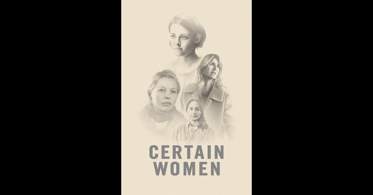 Certain Women on iTunes
